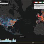 Una estructura de datos para la exploración visual basada en similitud de grandes volúmenes de datos espacio-temporales