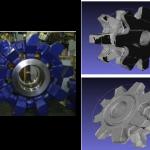 Reconstrucción y modelado 3D de las superficies decomponentes y piezas de maquinaria pesada usada en Minería, con nivel de precisión milimétrica, para su aplicación en un nuevo proceso optimizado de manutención especializada